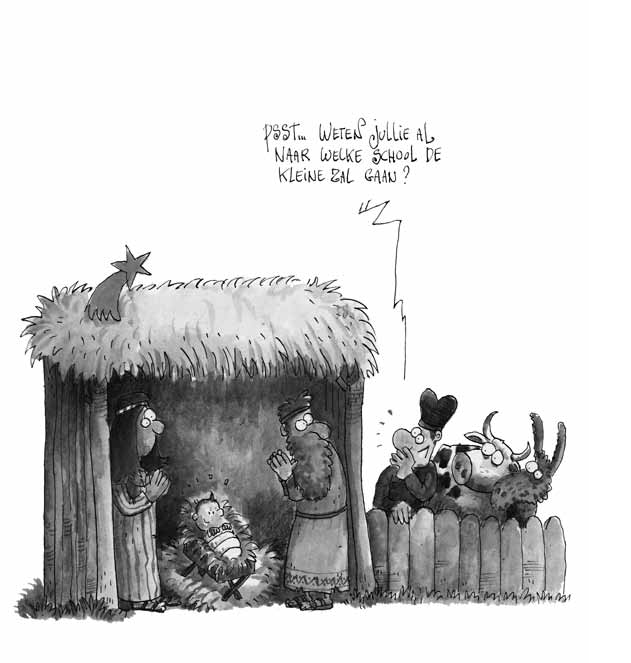 Uitmuntendheid cartoon
